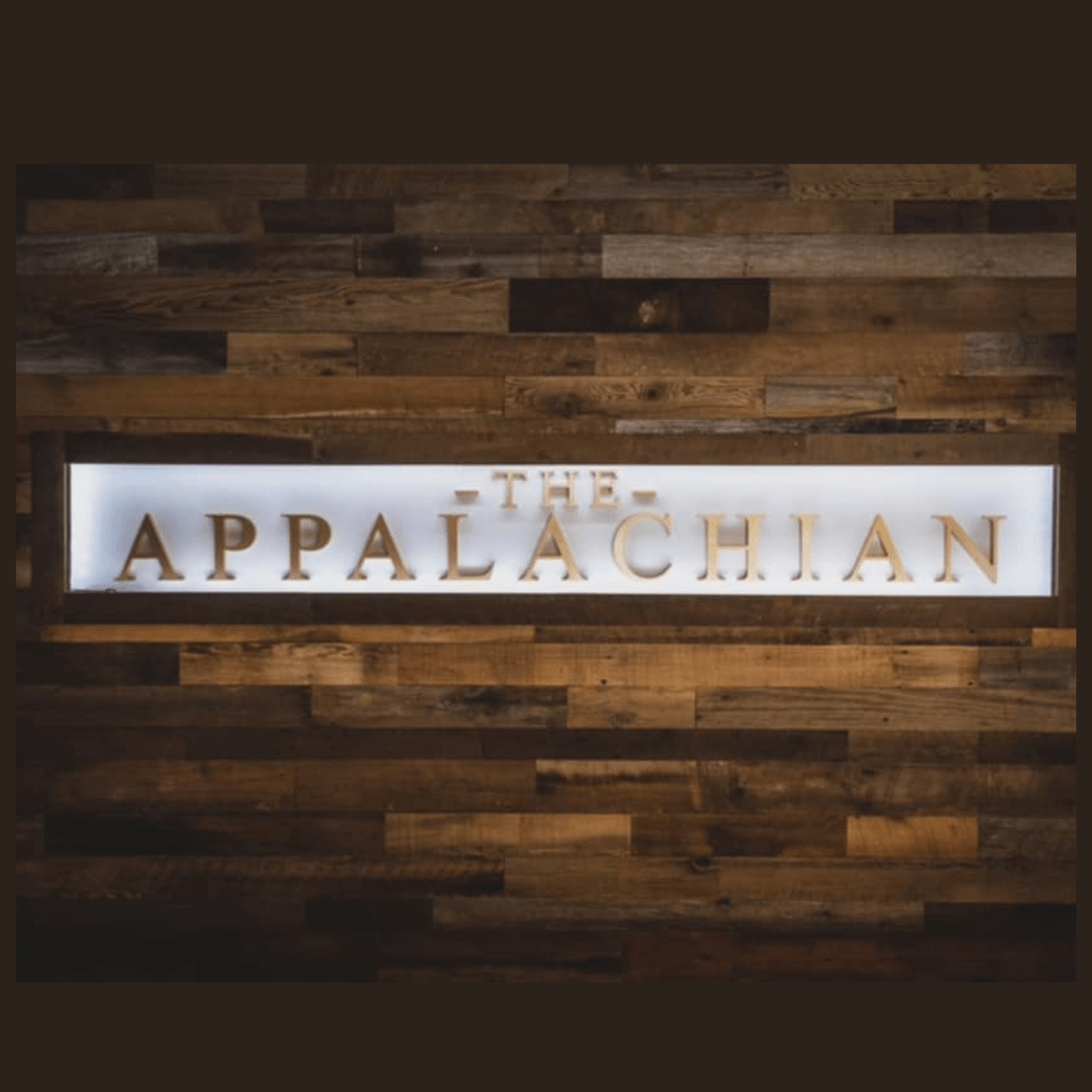 The Appalachian Chefs Table Restaurant in Downtown Sevierville