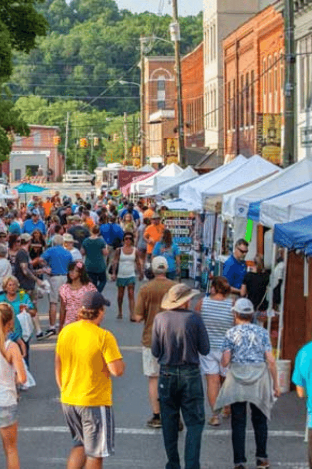 historic downtown sevierville bloomin barbecue festival events compass ventures