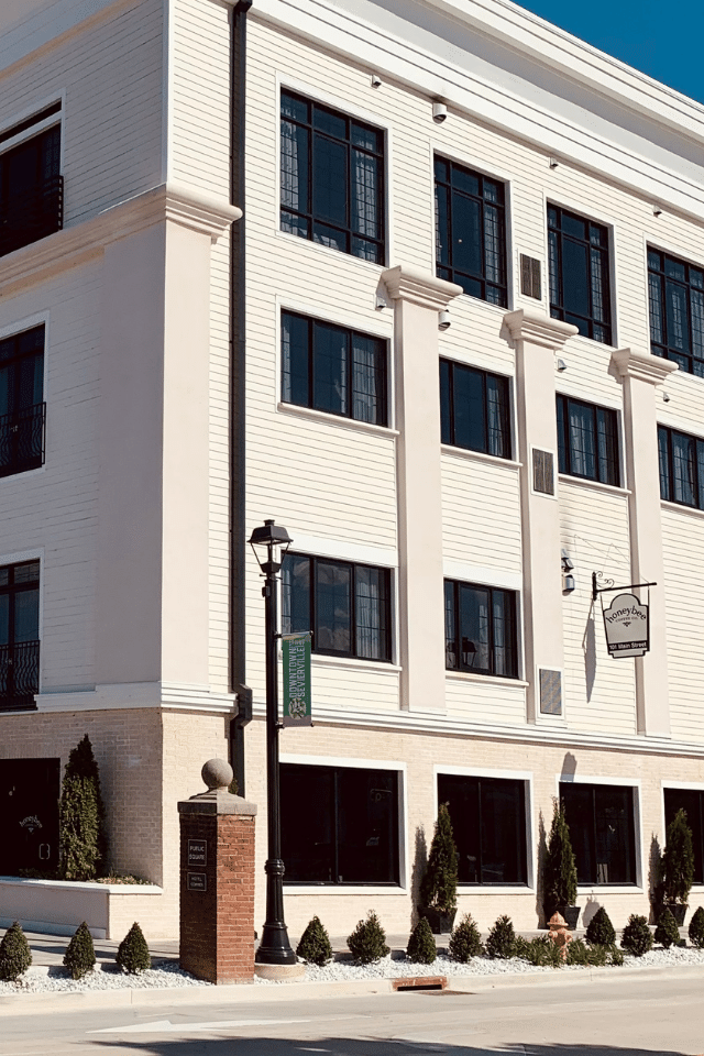 historic downtown sevierville honeybee coffee co the central hotel