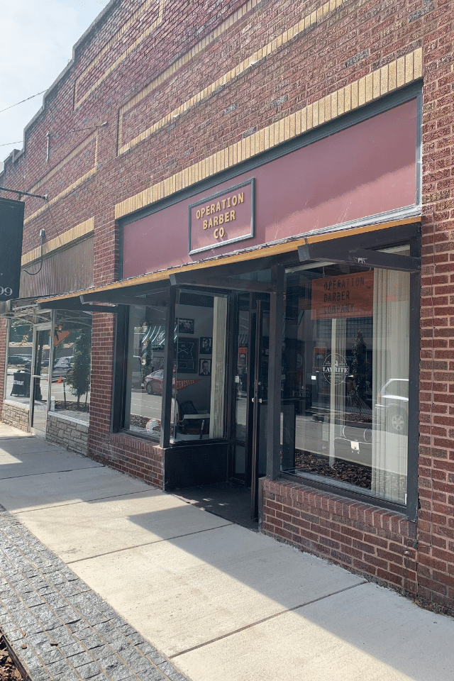 operation barber co downtown sevierville bruce street